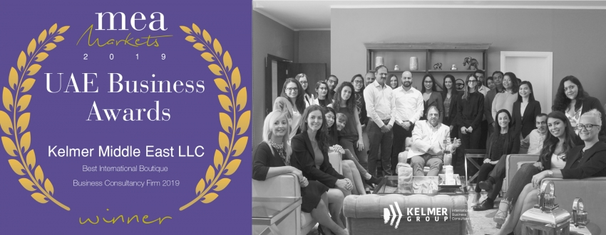 Kelmer Middle East LLC Best International Boutique Business Consultancy Firm 2019